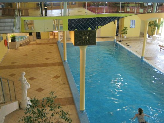TOP HOTEL Praha: swimming pool an SPA