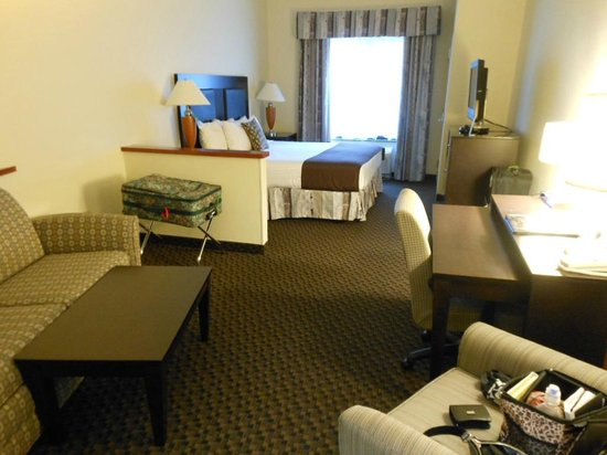 Best Western Plus Castlerock Inn & Suites: bedroom area