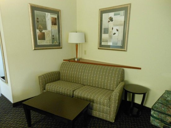 Best Western Plus Castlerock Inn & Suites: Seating area in room