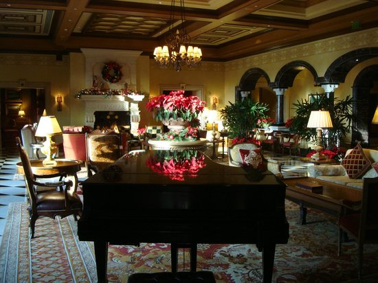 Fairmont Grand Del Mar: Lobby lounge