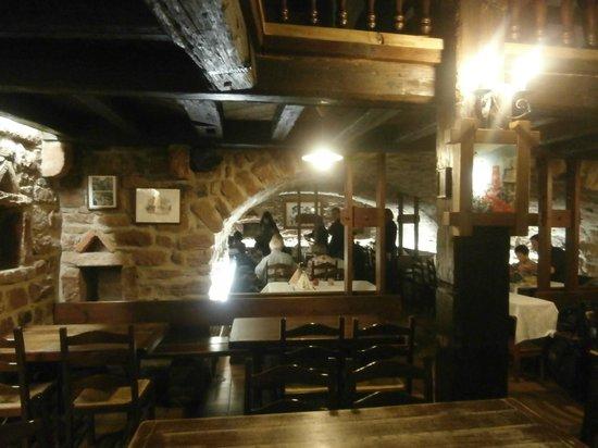 Caveau de l'Ami Fritz:                                     Interior