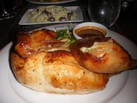 Westin Mission Hills Golf Resort & Spa: Half chicken dinner at Pinzimini