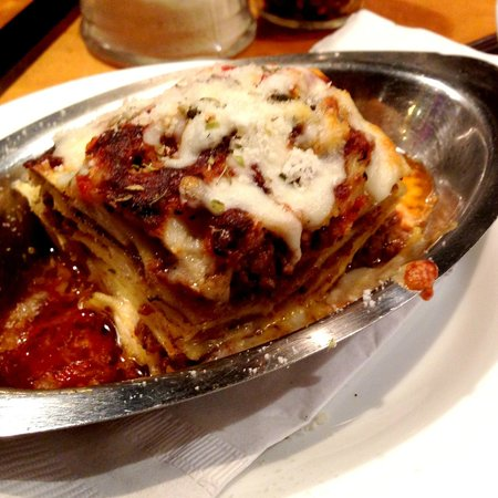 Slices Pizza and Pasta:                   Lasagna
