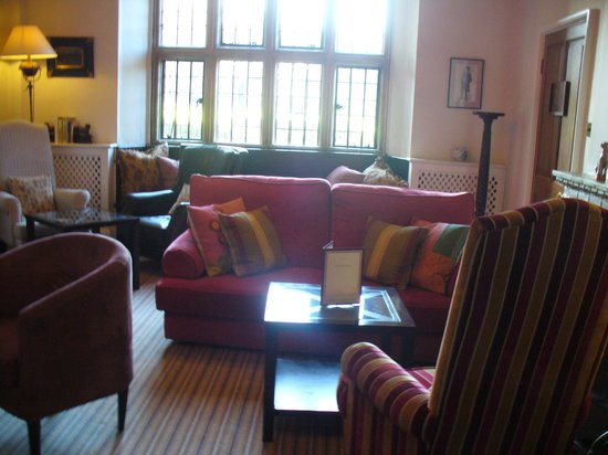 The Old Bell Hotel: One of the hotel's comfortable lounges