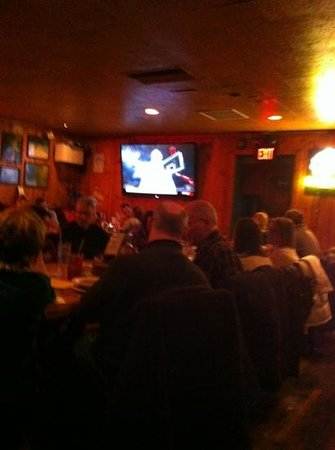 The Moose Preserve Bar & Grill: busy place