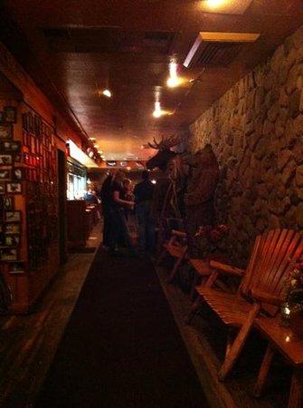 The Moose Preserve Bar & Grill: entrance
