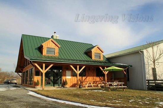 Goose Creek Farm and Winery - Otium Cellars:                   Glossy newness