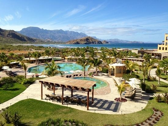 Villa del Palmar Beach Resort & Spa at The Islands of Loreto:                   View from our room.