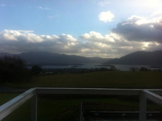Aghadoe Heights Hotel & Spa:                   vista desde el bar