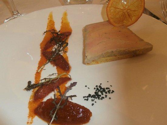 Restaurant B. Collon -  Auberge de Letraz: Pate de Foie Gras