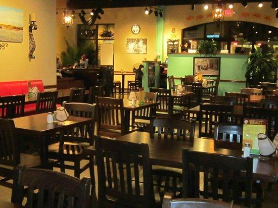 Carlos Cafe Cuban Restaurant Dining Area