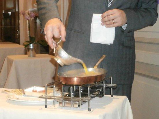 Restaurant B. Collon -  Auberge de Letraz: Crepes