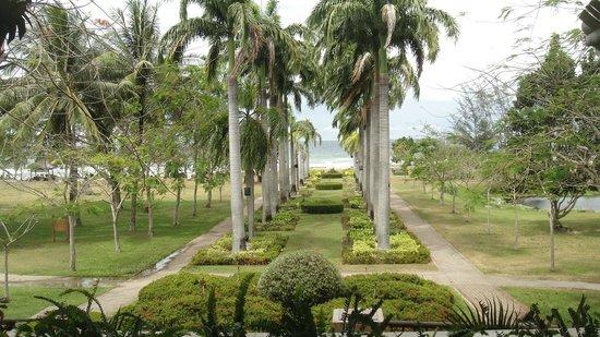 Nexus Resort & Spa Karambunai:                   View from Hotel Lobby
