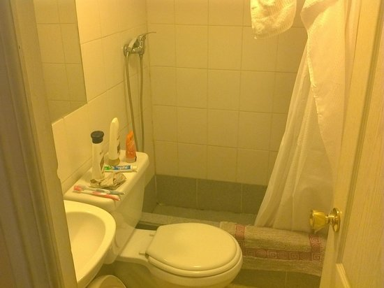 Hotel Montealegre de Valparaiso :                   baño