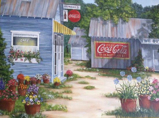 Kopper Kettle Kafe: beautifully painted.