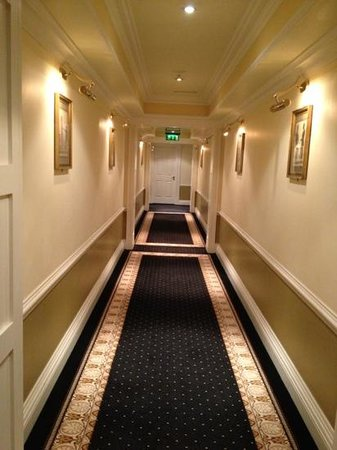 Imperial Hotel:                   corridor on third floor