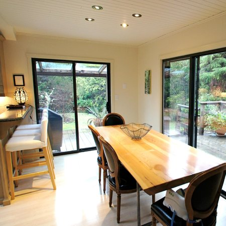 West Wind: One-of-a-kind handmade dining table with stunning views!