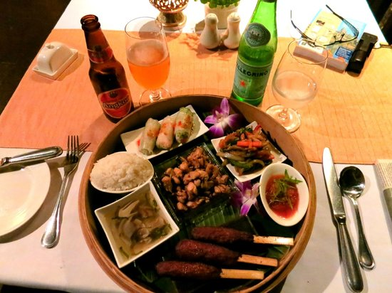 Belmond La Résidence d'Angkor:                   Try the Khmer Feast at La Residence d'Angkor ... spectacularly delicious