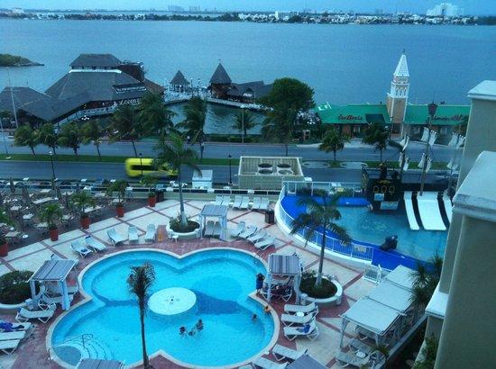 Gran Caribe Resort:                   Vista desde la habitacion