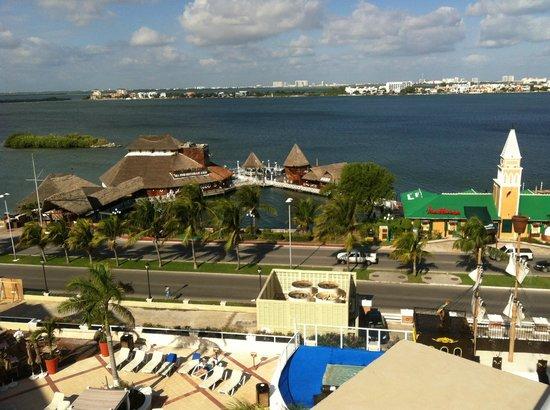 Gran Caribe Resort:                   Aca se aprecian los equipos del ruidos