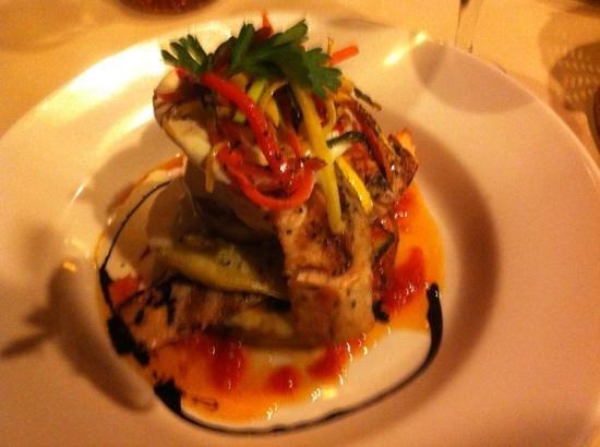 Maza Mediterranean Italian:                                     salmon special