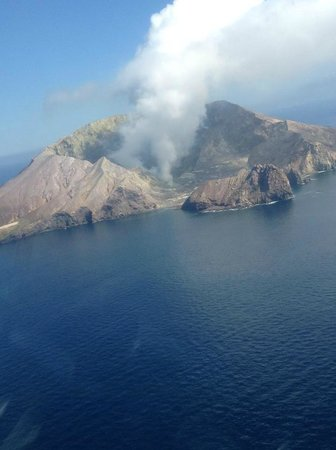 Volcanic Air:                   View from above