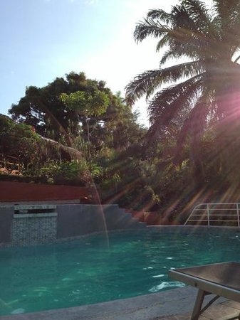 Hotel Villa Teca :                   La Picina, bonita pero muy onda...
