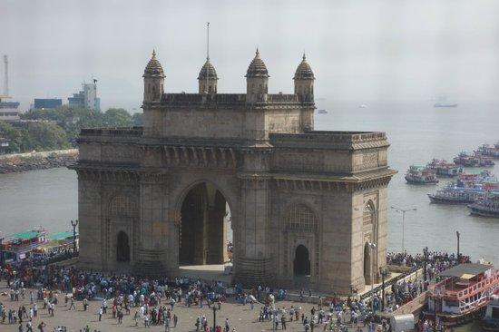 The Taj Mahal Palace, Mumbai:                   The view from the room