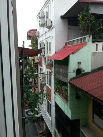 Hanoi Charming Hotel: city view