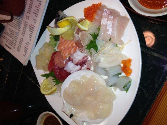 Inakaya Japanese Restaurant :                   Sashimi special