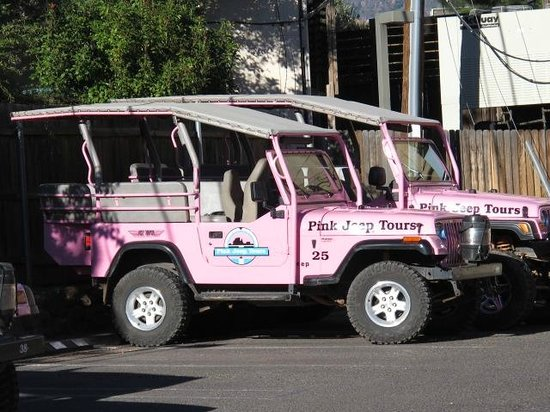 Pink Jeep Tours Picture Of Pink Jeep Tours Sedona