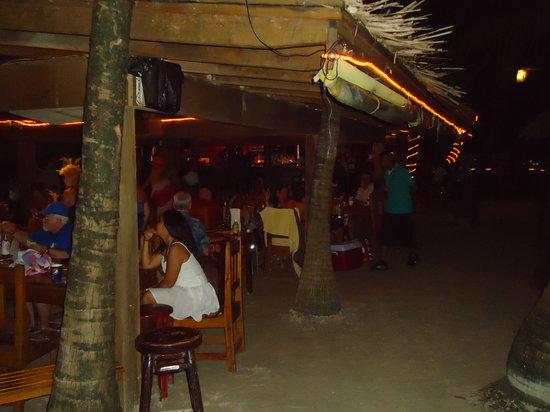 Bananarama Beach and Dive Resort :                   As you walk in off beach.