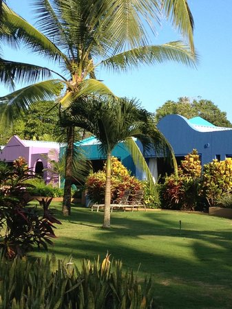 Alma del Pacifico Beach Hotel & Spa: Stunning colours