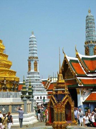Kungliga palatset i Bangkok: pagoda