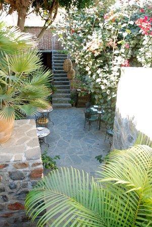 Todos Santos Inn : Breakfast Dining Area