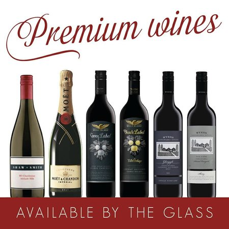 Arkaba Hotel: Premium Wines by the Glass