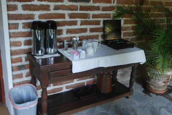 Todos Santos Inn: Coffee & Tea in the Mornings