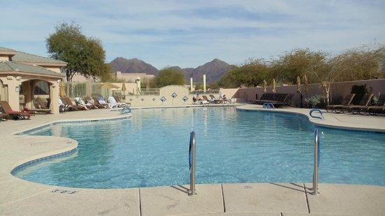 Scottsdale Links Resort:                   Very nice pool!