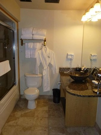 Bonneville Hot Springs Resort & Spa: Bathroom