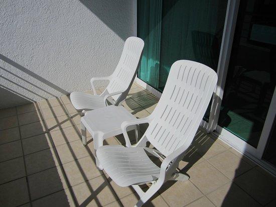 Casa Mexicana Cozumel: Sunny balcony