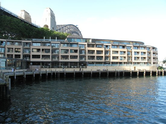 View of hotel picture of park hyatt sydney sydney for Hotel park hyatt sydney
