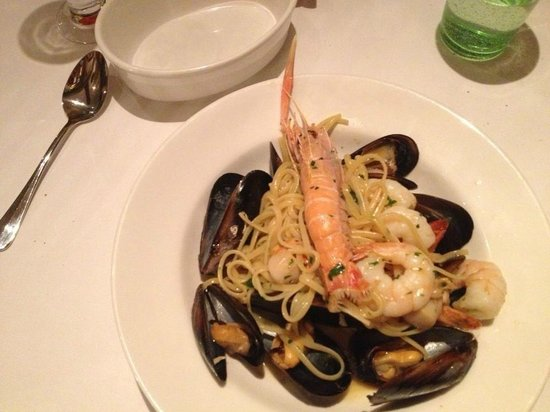 Donovans:                   Donovan's Sumptuous Seafood and Scampi Linguine