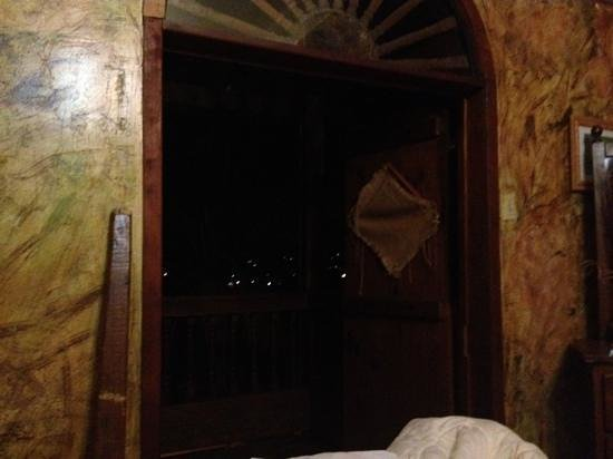 Hacienda El Jibarito:                   room door to the balcony