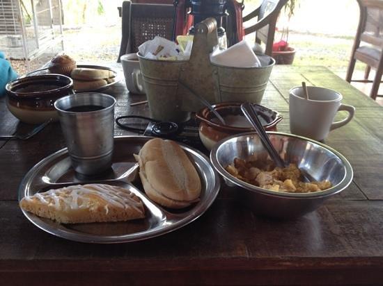 San Sebastian, Puerto Rico:                   breakfast                 
