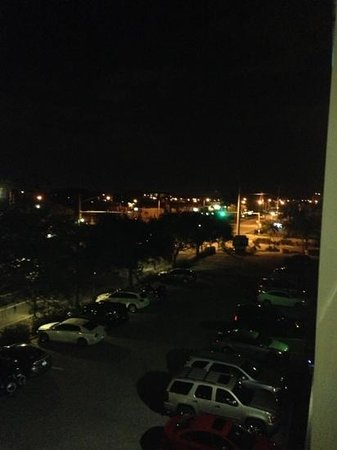 Holiday Inn Express Cape Coral/Fort Myers Area:                                     traffic light right out my balcony