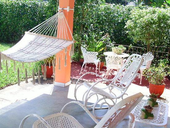 Casa Papo y Niulvys: jardin