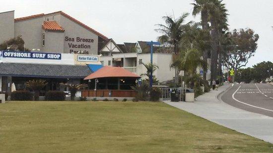 Harbor Fish Cafe: Outside