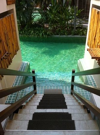 The Hideaway Resort:                   pool access