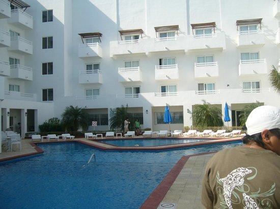 هوليداي إن كانكون أريناس:                   Vista del Hotel                 