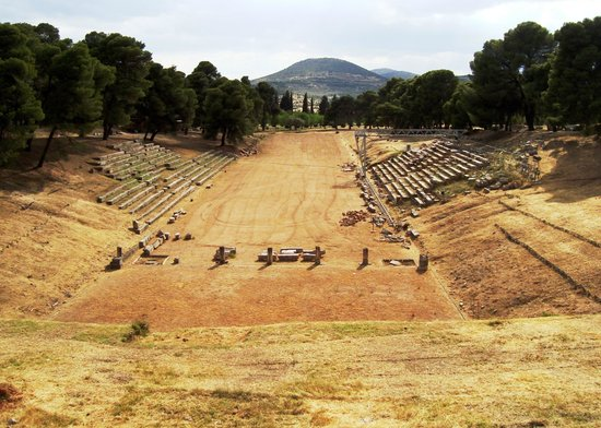 Theater van Epidaurus: The stadium